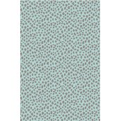 Decopatch Paper 663 - Half Sheet - Fuzzy Furs Grey On Pale Blue