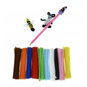 Mixed Colour Pipe Cleaner Value Pack - 1000 Pack