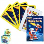 Space Robot Playing Cards