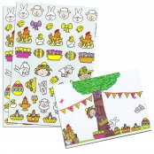 Easter Stickers (Approx 200 Stickers)