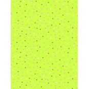 Decopatch Paper 687 - Half Sheet - Lime Green Pastel Hearts