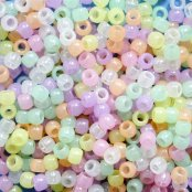 Glow In The Dark Pony Beads - 400 Beads