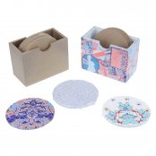 Box With Coasters - 6 Pack