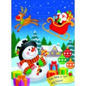 Christmas Party Bags Pack Of 8
