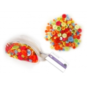 Fashion Buttons Vivid Colours