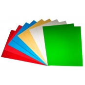 A4 Green Mirri Mirror Card(pack Of 10)