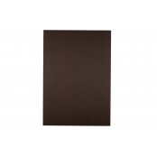 A4 Dark Chocolate 200gsm Coloured Card - Pack of 10