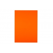 A4 Tangerine 200gsm Coloured Card - Pack of 10 Sheets