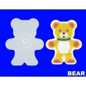 Large Hama Pegboards - Bear