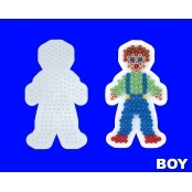 Large Hama Pegboards - Boy