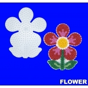 Large Hama Pegboard - Flower