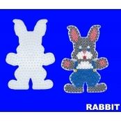 Large Hama Pegboards - Rabbit