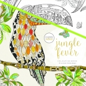 KaiserColour 'Jungle Fever' Adult Colouring Book