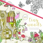 KaiserColour 'Tiny Woods' Adult Colouring Book