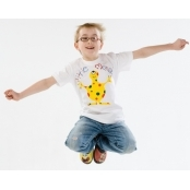 Childrens Cotton Tshirt Med Age 9-10
