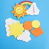 Foam Sun Thermometer Kit