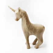 Small Paper Mache Unicorn SA168