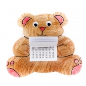 2018 Teddy Bear Colour In Calendar Kits - Pack Of 10