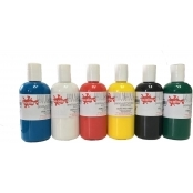 Ready Mixed Acrylic Paints - 150ml Cyan Blue by Scola