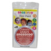 Snazaroo Face and Body Paints - Red - 18ml