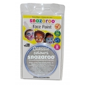 Snazaroo Face and Body Paints - Light Grey - 18ml