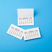 2018 Calendar Tabs Pack Of 10