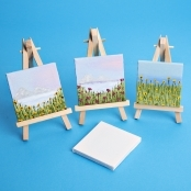 Mini Painting Canvas 7.5 x 7.5cm