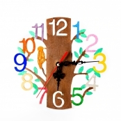 Woodland Clock for Decorating