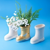Ceramic Boot - Box Of 6