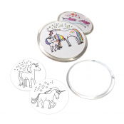 Unicorn Acrylic Coasters Kits to Colour In