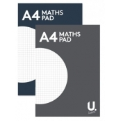 A4 Maths Pad (5mm Squares)