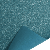 Light Blue Glitter Felt Sheet