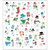 Snowman Sticker Sheet