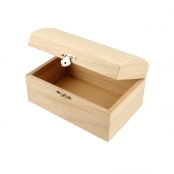 Small Wooden Treasure Chest