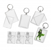 Super Girl Keyring Single