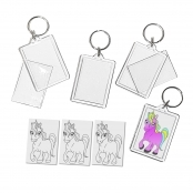 Crafty Crocodiles Unicorn Keyring - Singles