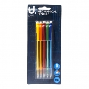 Mechanical Pencils(Pack Of 5 Pencils)