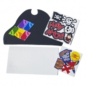 Foam Pirate Hat Kit