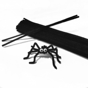 Black Pipe Cleaners - Pack of 100