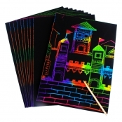 Scratch Art Sheets and Tools