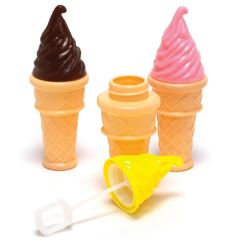 Ice Cream Bubbles Pocket Money amp Party Bag Toys From