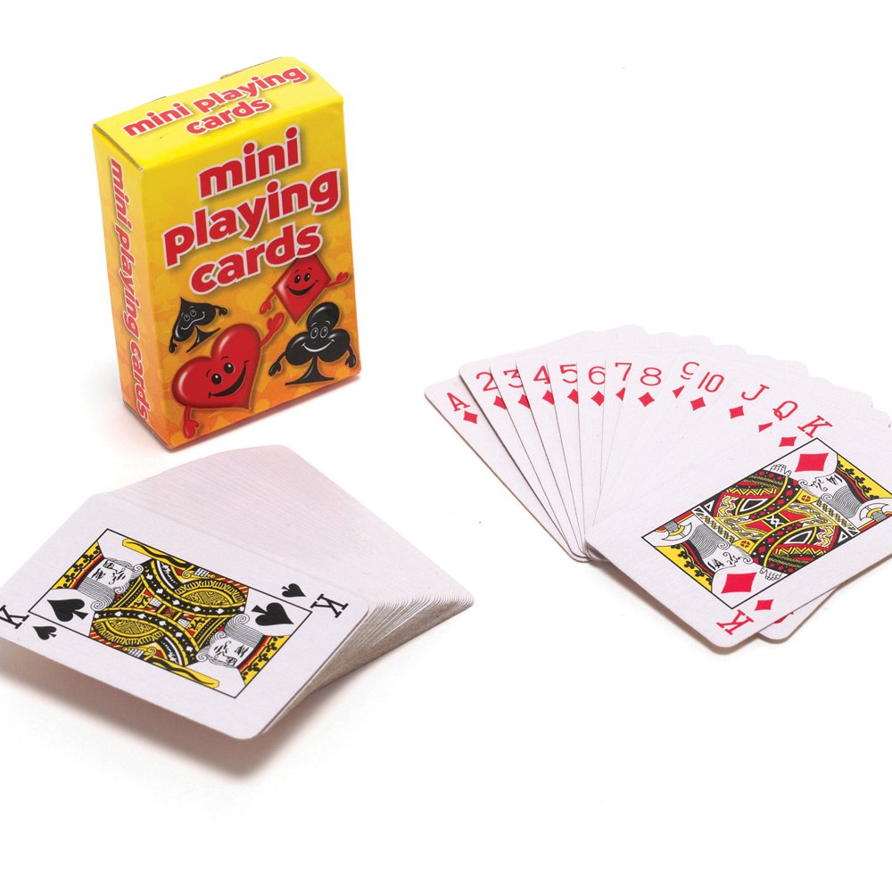 Toys For Cards : Mini playing cards pocket money party bag toys from
