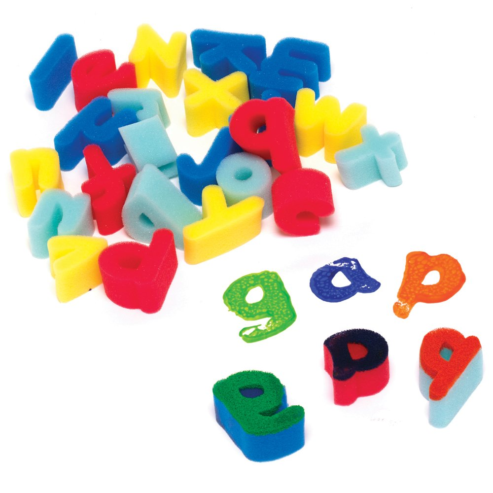 Foam Alphabet Letters Set - Painting Essentials from Crafty Crocodiles ...