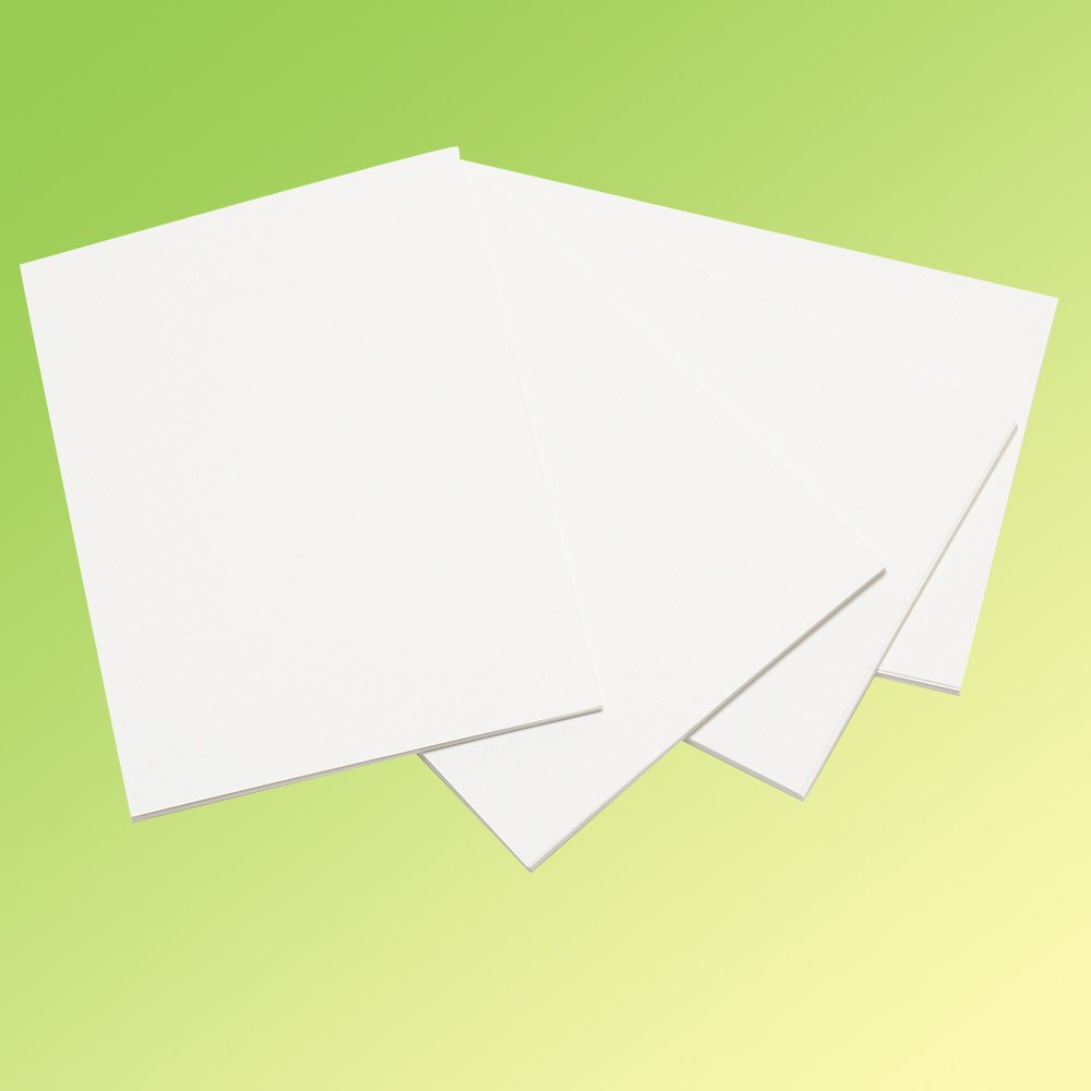 A4 White Card - 100 Sheets - Card & Paper from Crafty Crocodiles UK