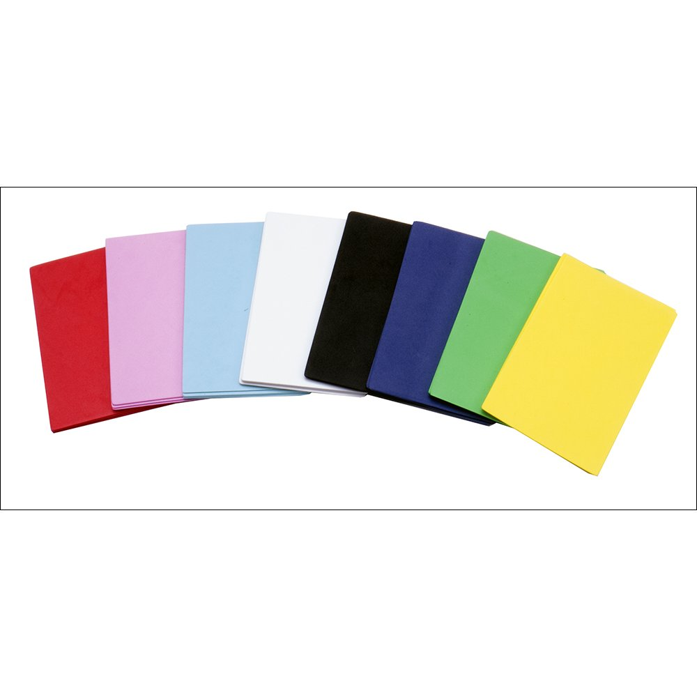 Primary Colour Fun Foam Sheets Pack - 30 Sheets - Foam