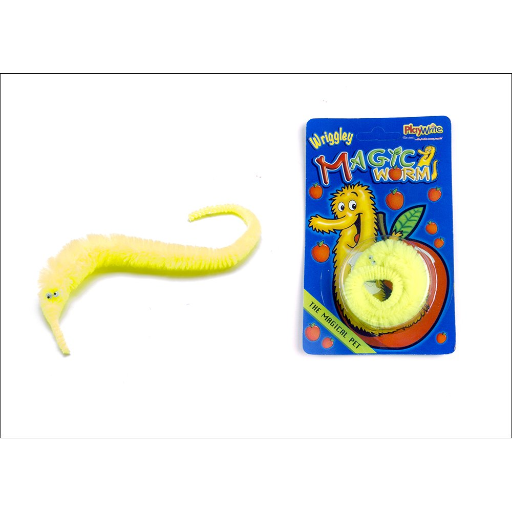 magic wiggly worm pocket money party bag toys from crafty