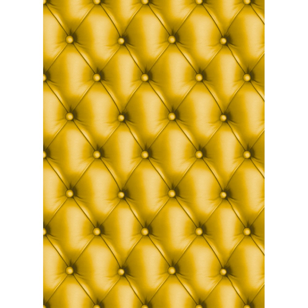 Decopatch paper 621 half sheet yellow leather for Decopatch papier
