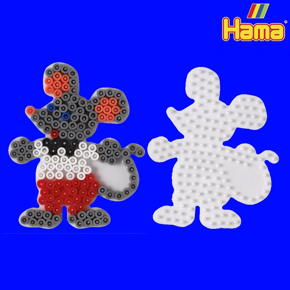 Mouse Hama Pegboard Pegboards From Crafty Crocodiles UK