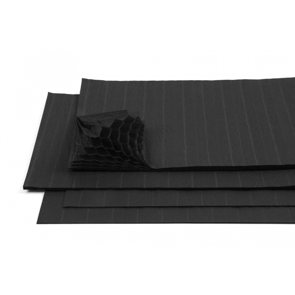 black corcertina paper  5 sheets  card  paper from