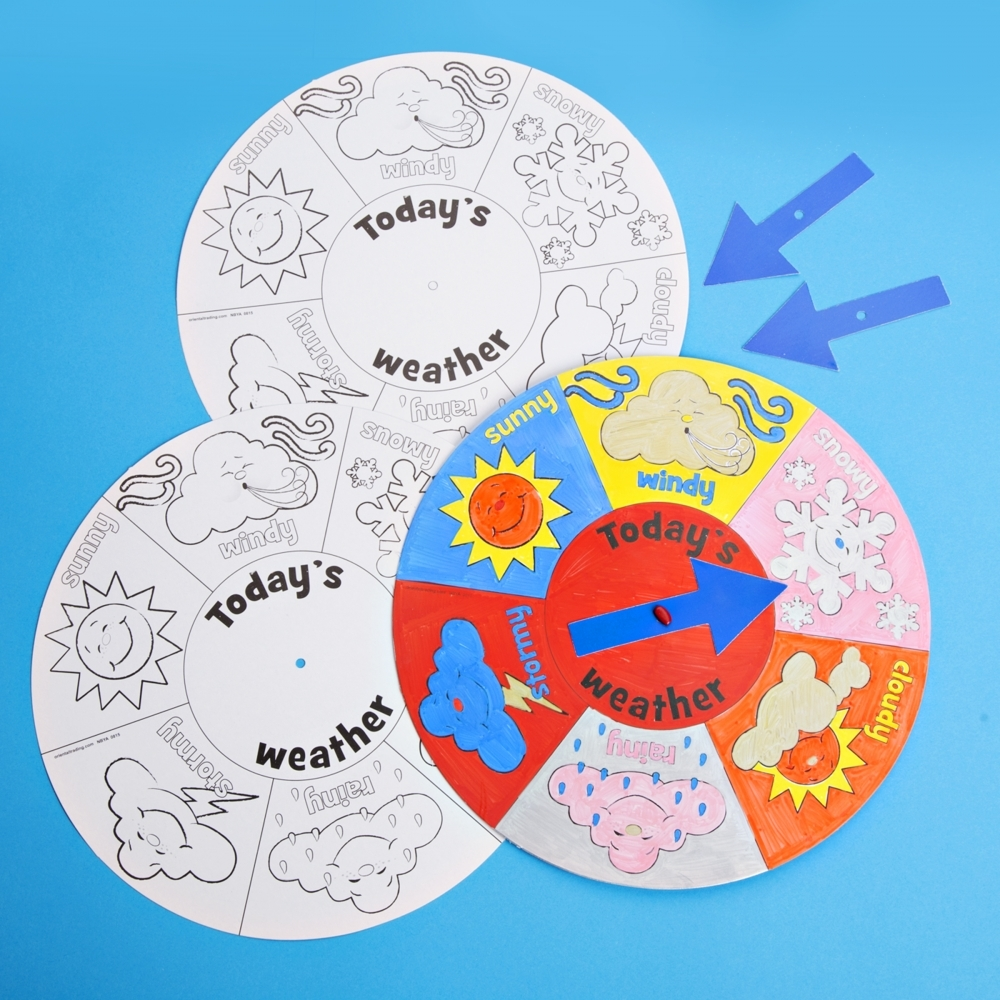Weather Wheel To Colour And Decorate Station